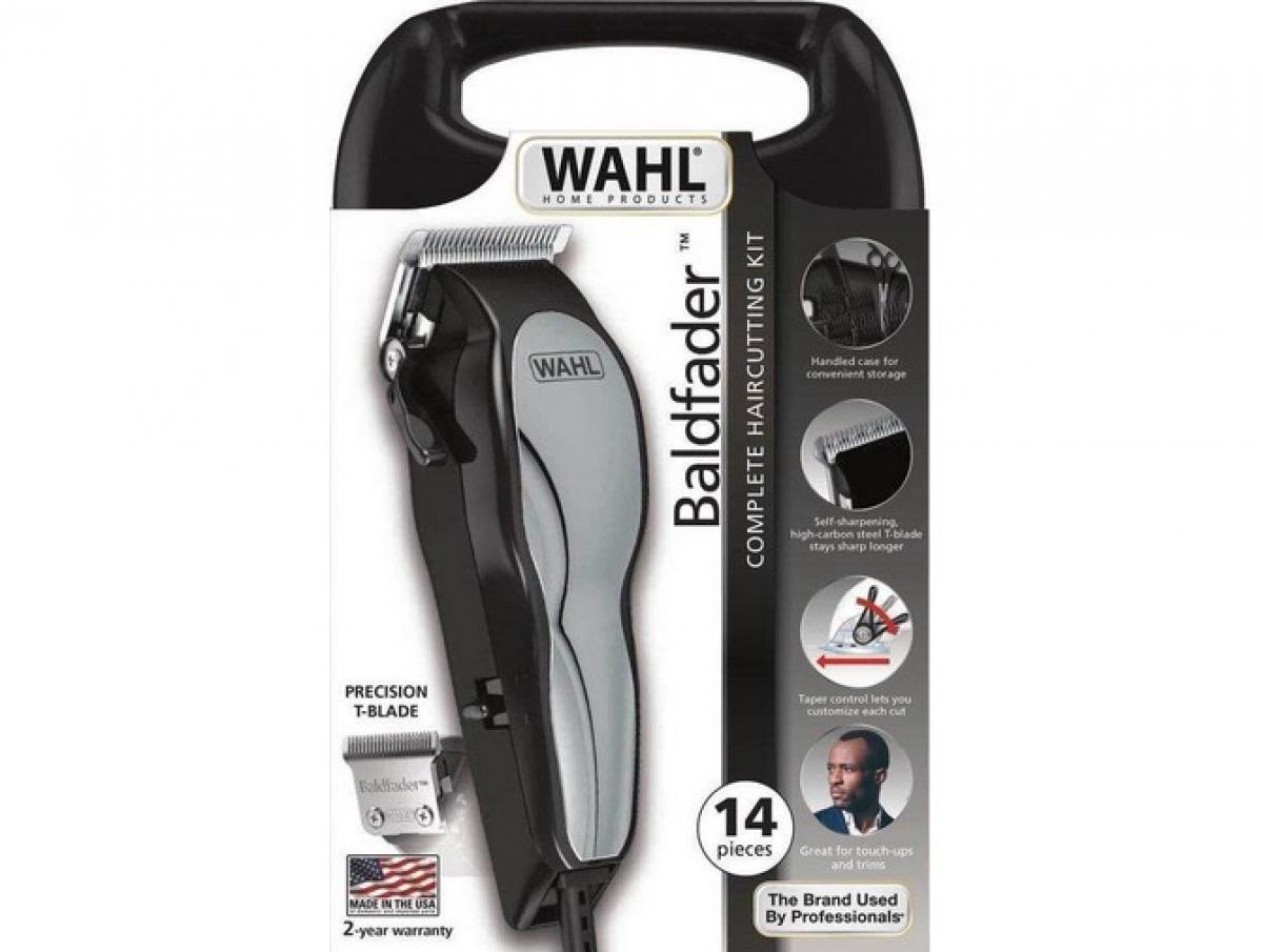 Wahl Baldfader Tondeuse – Haartrimmer – Scheerapparaat – Zwart, Zilver