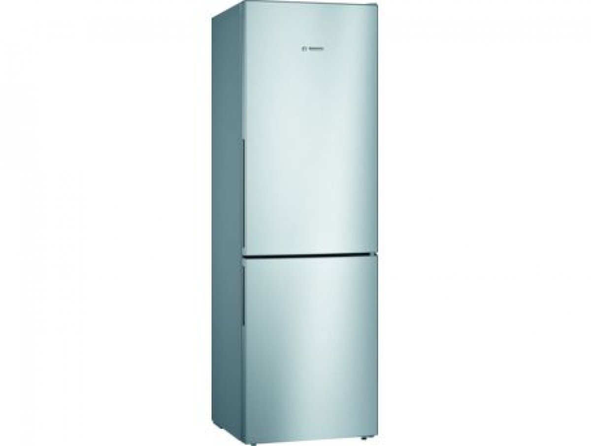 Bosch KGV36VLEAS Vrijstaande koel-vriescombinatie 186 x 60 cm RVS look